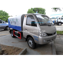 Small rear loading cheap garbage truck