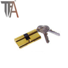 Two Side Open Lock Cylinder with Four Normal Keys