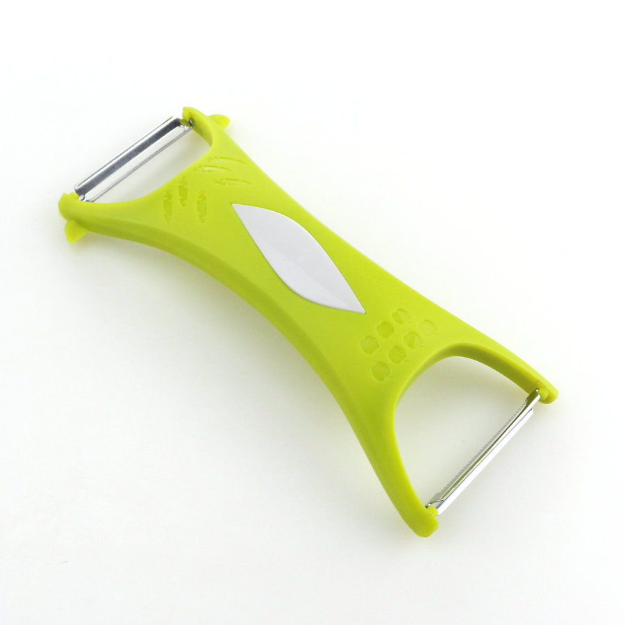Double sided peeler