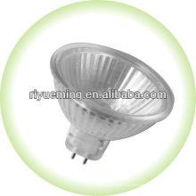 Ampoule halogène MR16 / Verre couvert / Flood étroit 12 / 110-240 Volt 50w
