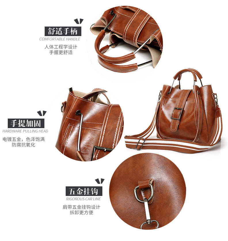 genuine vintage tote women handbags