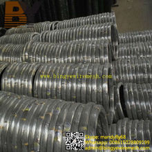 Hot Dipped Galvanized Flat Oval Wire for Cattle Farm
