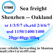 Shenzhen Sea Freight Shipping Services to Oakland