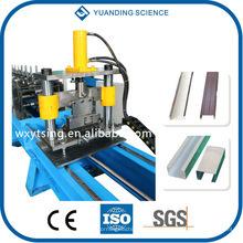 YTSING-YD-4047 Passed ISO und CE Hydraulische CZ Purlin Roll Umformmaschine WuXi, C Form Forming Machine
