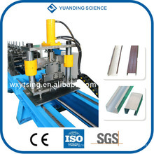 YTSING-YD-4047 Passed ISO and CE Hydraulic C Z Purlin Roll Forming Machine WuXi, C Shape Forming Machine
