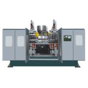 0,5 L Full Auto extrusión soplado máquina de moldeo por