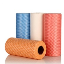 Printed Nonwoven Spunlace household Cloth Roll