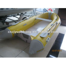 Rigid inflatable boat 360