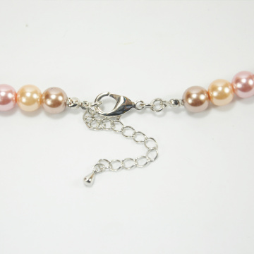 Pearl Necklace with Diamond Heart Pendant UK
