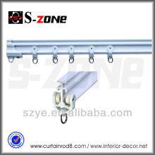 SC01 pinceau en plastique PVC piste flexible rideau flexible