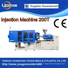 Machine de fabrication de coupe machine de moulage par injection plastique 200T à Zhejiang Chine