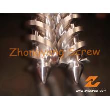 Twin Conical Schrauben für Roller-Extruder