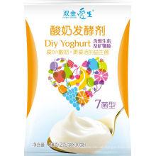 Probiotischer gesunder Joghurt mit lebenden Kulturen uk