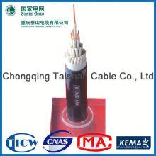 Автомобильные 8mm ПВХ кабель питания