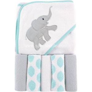 100%Bamboo Organic Kids Bath Towel Baby Hooded Towel