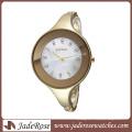La mode a contracté la grande montre de bracelet de cadran pour la dame