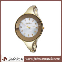 Simple Personality All Alloy Bracelet Watch Big Dial Women Watch