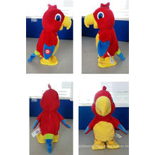 Electric Battery Operated Movable Parrot Plush Toy