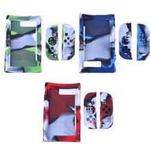 Funda antideslizante de la piel de la cubierta del silicón del camuflaje para la caja protectora anti del rasguño de los controladores Joy-Con de Nintend