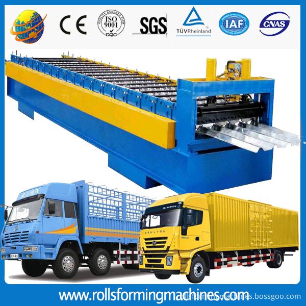 freight car panel making machine