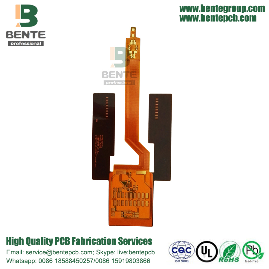 Flex board FR-4 reforço ENIG High-precision 2 Camadas