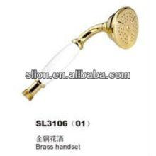 brass handset