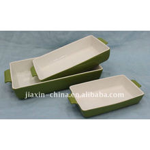 "10"" / 13"" /15"" rectangle oven plate smooth"