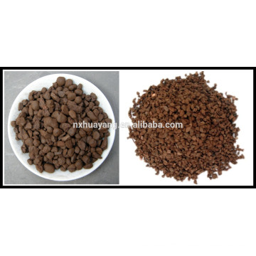 manganese sand in water treatment/iron manganese sand filter /manganese sand