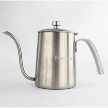 Chaleira do café do aço inoxidável do mercado superior 600ml