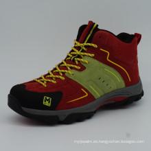 Hot Sale Men Trekking zapatos al aire libre de senderismo con zapatos impermeables