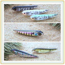 PLL002 6CM 10gshandong weihai fishing tackle hard pencil fishing lure