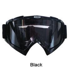 Jie Polly tactique professionnel Windproof antipoussière Goggles lunettes de protection noir