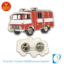 Fire Rescue Car Pin Badge in Lovely Style as Gift