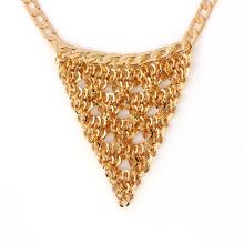 41238 xuping chaud vente plaqué or bijoux indiens mode 18 k délicat élégant collier plaqué or bijoux