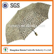 3 Folding Auto Open and Close Wind Resistant Umbrella Logo
