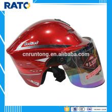 2016 casco de motocicleta casco más popular de la moda mini casco
