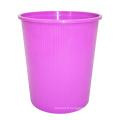 Poubelle en plastique pourpre pour la maison (B06-932NEW)