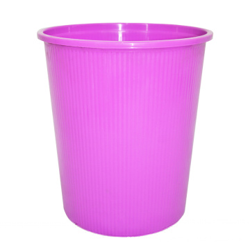 Purple Plastic Open Top Waste Bin for Home (B06-932NEW)