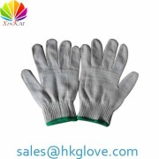 10gauge Cotton Knitting Work Glove Manufacturer with Cheap Price HKA1170
