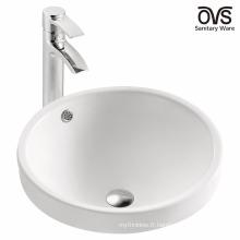 Salle de bains en céramique américaine cupc art bassin rond lavabo