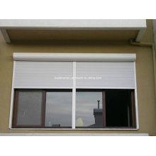 Amercian Style White Powder Coat Janel Roller Shutter Windows