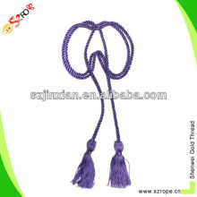 colored rayon decorative rope for curtain