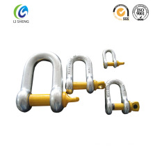 Us Type G210 Screw Pin D Shackle