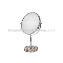 Hot sale bathroom mirror with natural pen shell