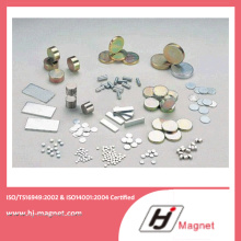 High Power N32-N55 Permanant Magnet with NdFeB Material for Motor
