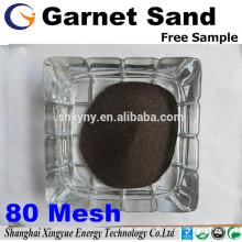 Factory Garnet Sand mesh 80 for Water jet Cutting