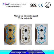 Multi Colors Painted Aluminum Casting Part