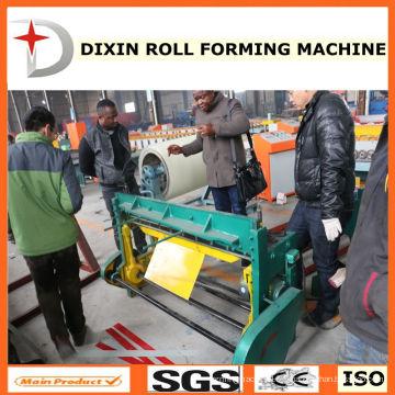 Machine de découpe de tôle d'acier à pédale de haute qualité