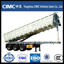 Cimc 3 Axle Dump Semi Trailer/Tipping Semi Trailer