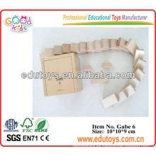 Juguetes de madera de Gabe - Ayudas de enseñanza para los cabritos